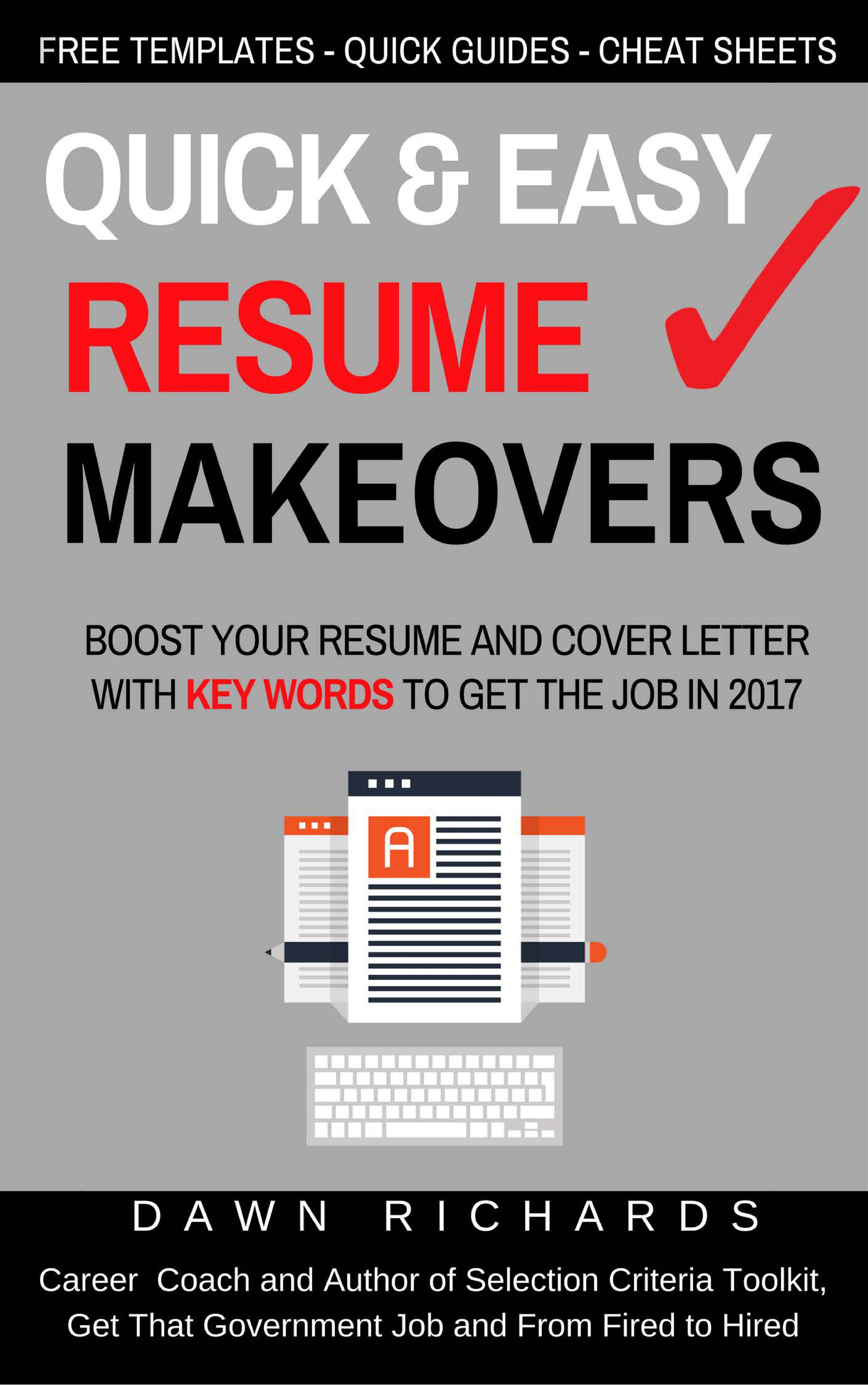 Simple Book Cover Jobs : Quick easy resume makeovers get that government job